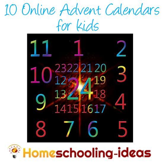 10 Online Advent Calendars