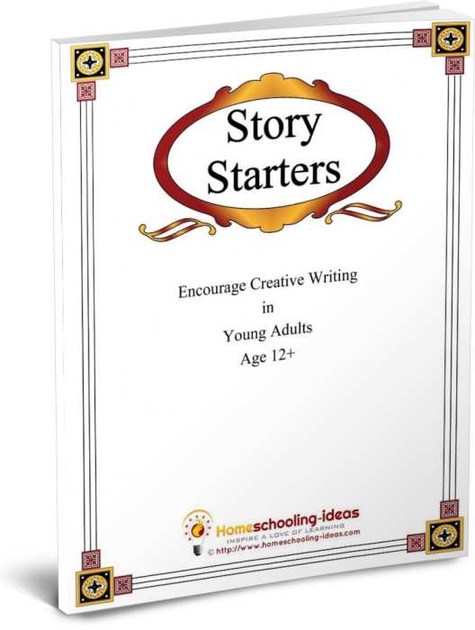 Story Starters - creative writing for ages 12+