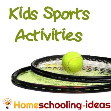 Homeschooling Kids Sports Activities