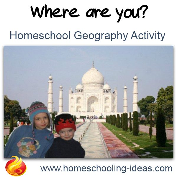Photography for kids - Geography activities