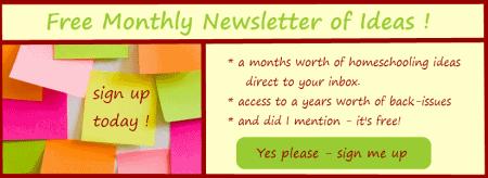 Homeschool Newsletter