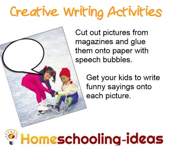 Ideas for creative writing tasks ks2