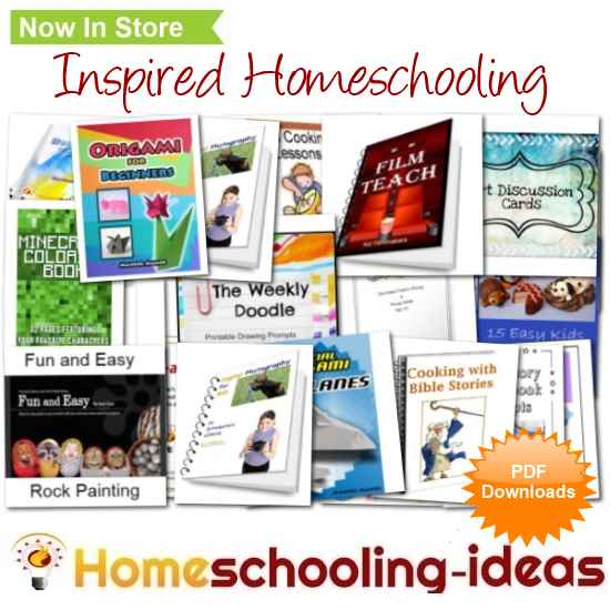 Inspired homeschooling at the homeschooling-ideas store