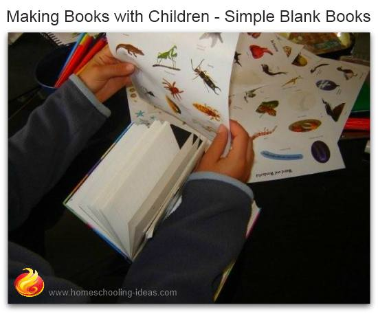 Making books with children