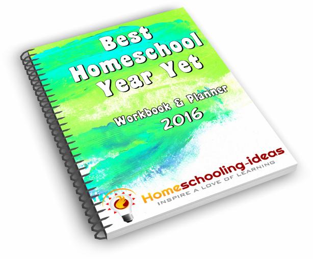 Best Homeschool Year Yet Planner