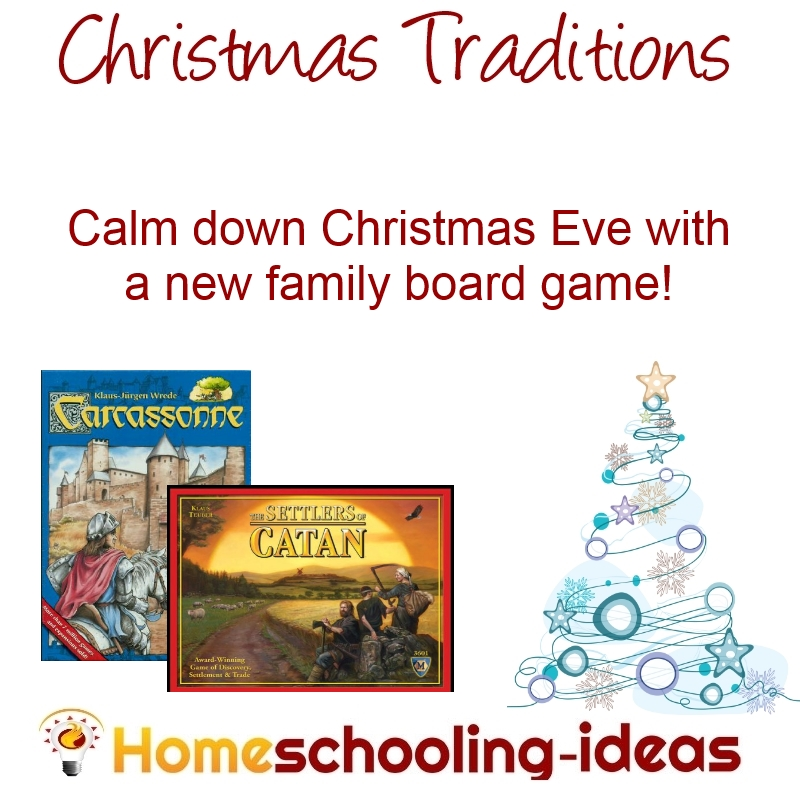 Christmas Eve Traditions - Board Games