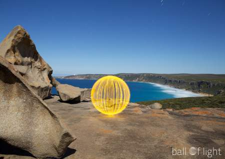 Photography projects for kids - ball of light
