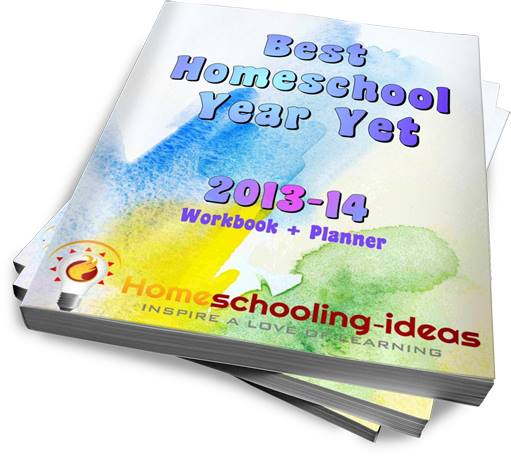 Homeschool planner and workbook