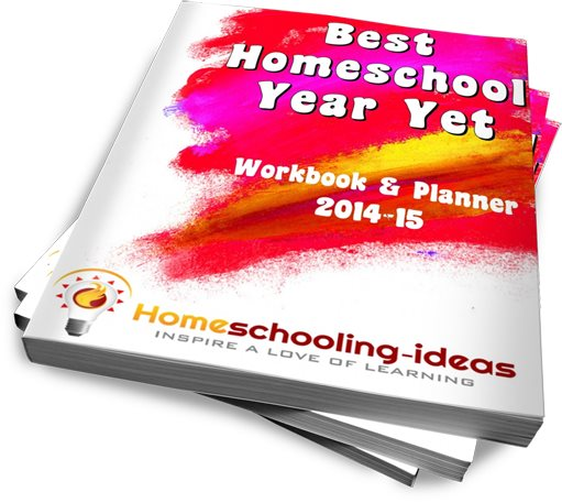 Best Homeschool Year Yet Planner and Workbook