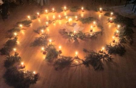 Christmas spirals