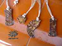 Clay Projects for Kids - pendants