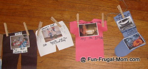 School Timeline Projects http://www.homeschooling-ideas.com/clothesline-timeline.html