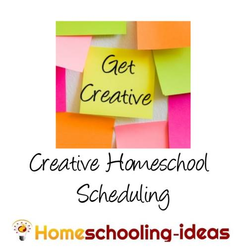 Make A Home School Schedule  Great Homeschooling Schedules