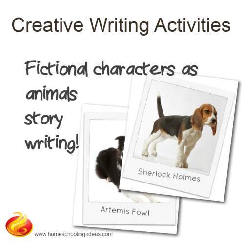 ideas for creative writing activities Things to make and do, crafts and activities for kids - the crafty crow: creative writing neuburger featuring 40 different ideas for children to use their imagination and develop their storytelling skills.