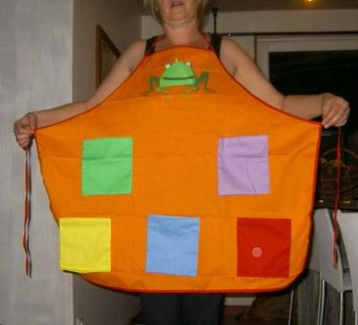 Story Telling Apron
