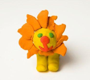 edible crafts for kids - lion model