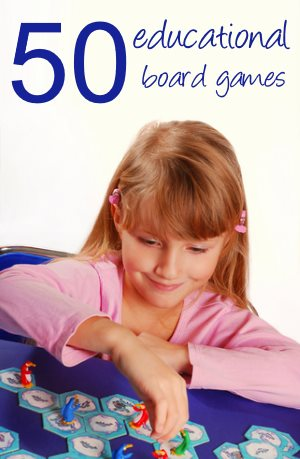 50 educational board games for kids