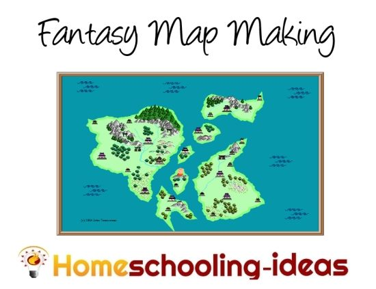 Fantasy Map Making - Homeschooling-Ideas