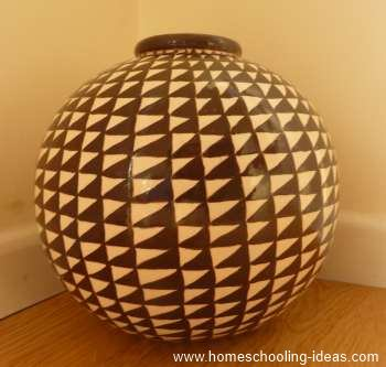 Firing Pottery in an Oven - Vase Idea