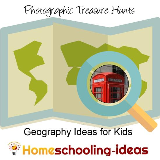 Geography for Kids - Photographic Treasure Hunts