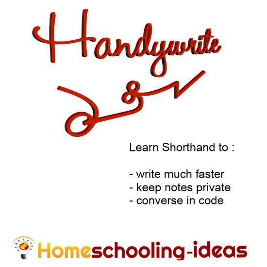 Learn shorthand - Handywrite