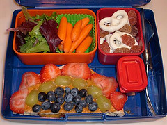 Healthy Homeschool Lunches