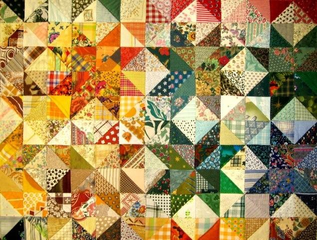 Home School Crafts - Quilt