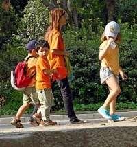 Homeschooling Activities - taking a walk