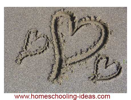 Simple idea for homeschooling - nature art