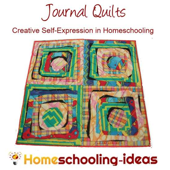 Journal Quilts for Homeschooling