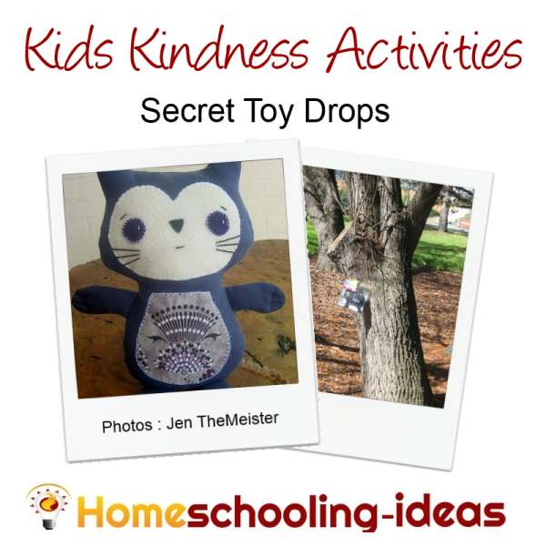 Kids Kindness Activities - Toy Drop