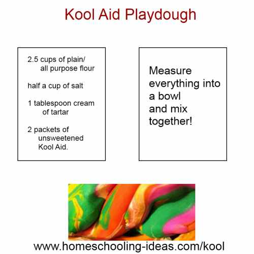 Kool Aid Activities And Crafts