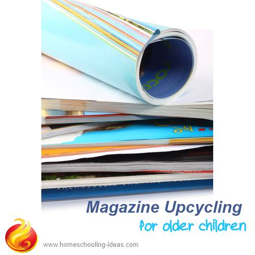 Magazine upcycling