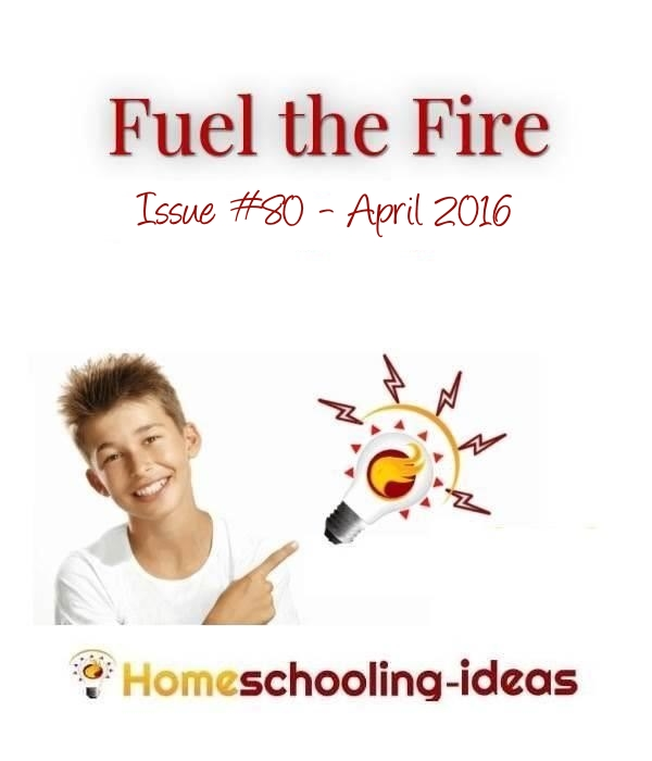 Free homeschooling ideas newsletter from www.homeschooling-ideas.com Issue 80