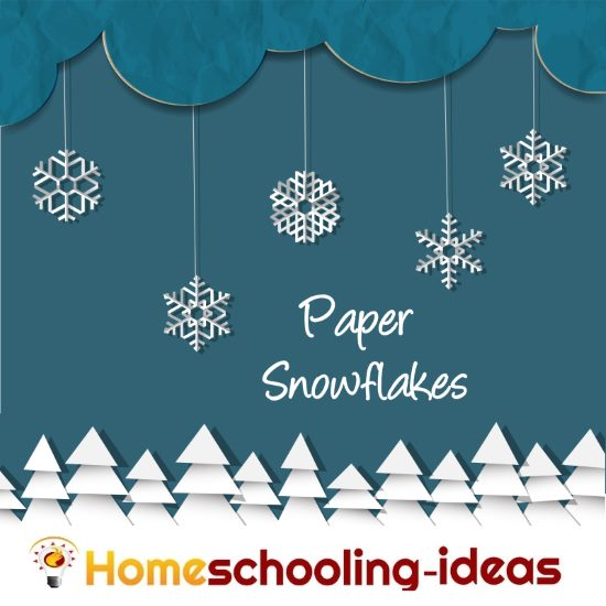 Make your own Paper Snowflakes from www.homeschooling-ideas.com