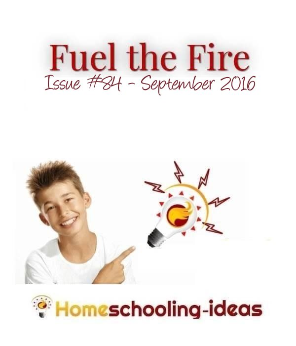 Free newsletter filled with homeschooling ideas. Issue #84 - September 2016.