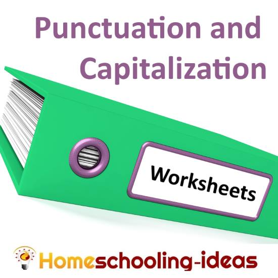 Capitalization and Punctuation Worksheets – Grammar and Punctuation Worksheets