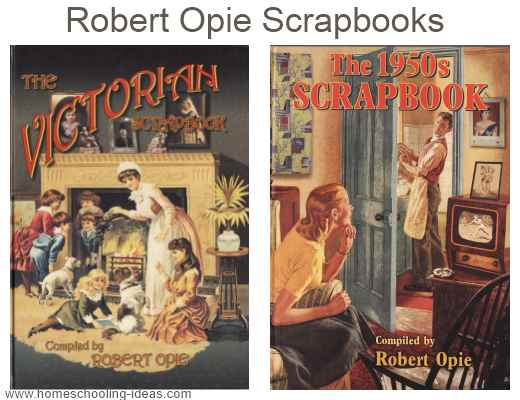 Robert Opie Scrapbook covers