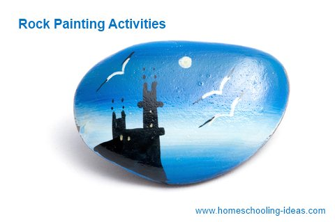 Rock Painting Activities for Homeschooling