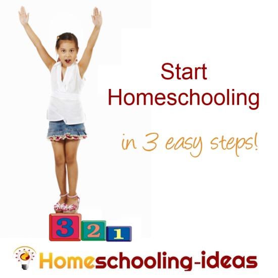 Start Homeschooling in 3 easy steps