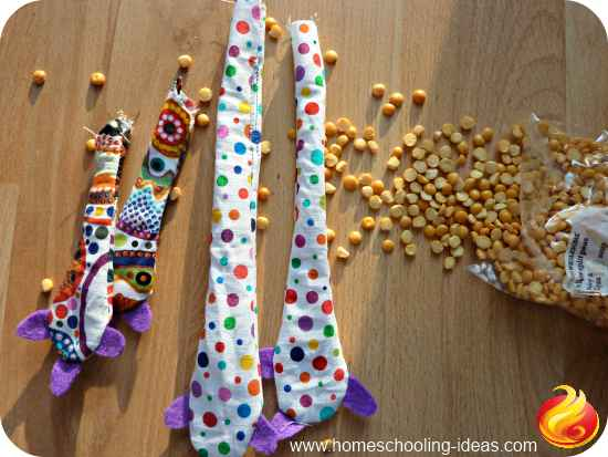 Survival Doll - stuff with lentils