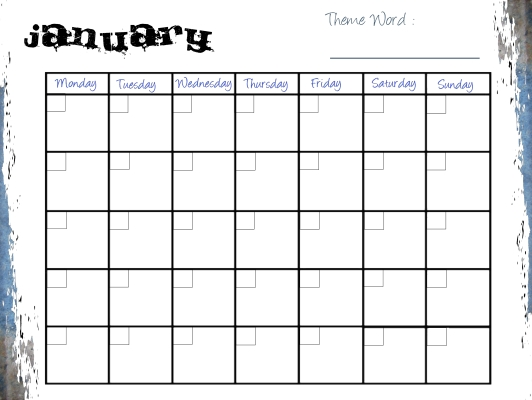 Teenage Planner Page Example