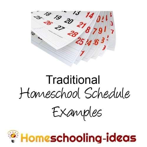 make a home school schedule great homeschooling schedules