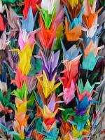 100th Day Activities - Paper Cranes