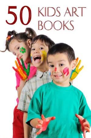 50 kids art books