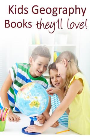 kids geography books