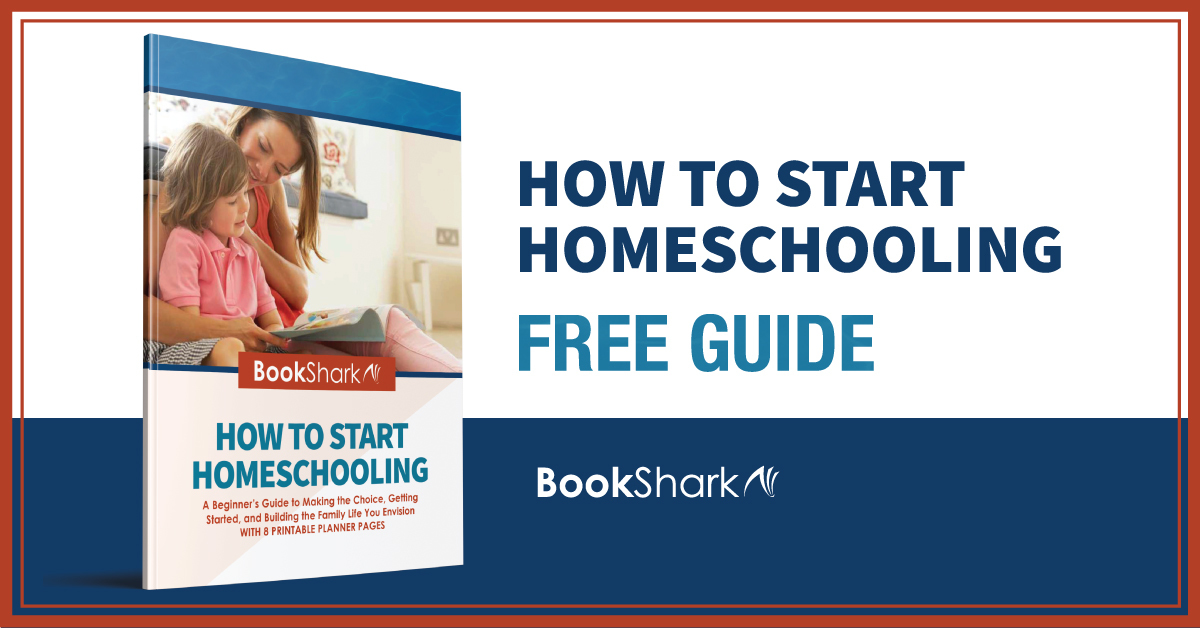 Free Start Homeschooling Guide from BookShark