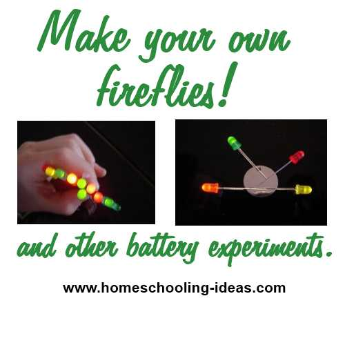 Make your own fireflies
