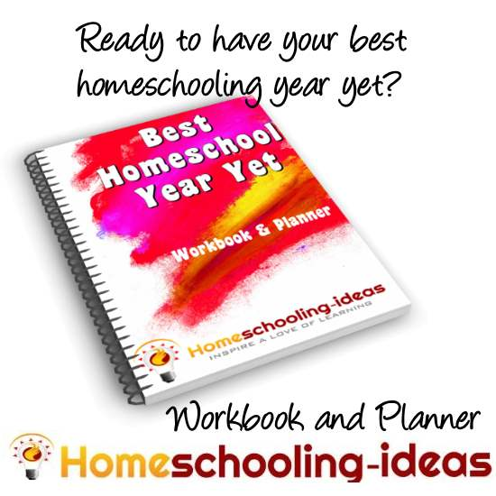 best homeschool year yet workbook and planner