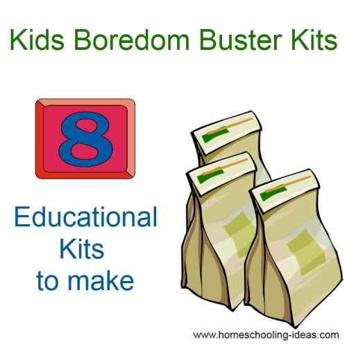 Kids Boredom Buster Kits